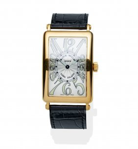 A Gentleman's Yellow Gold Long Island Wristwatch,