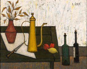 Robert Gorin, French 20th Century Still Life With