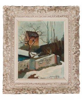 Jean Francois Retau***es French, 20th Century Winter