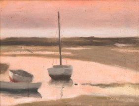 Clarice Beckett (1887 - 1935) Low Tide