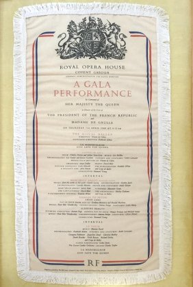 Royal Opera Housecovent Gardena Gala Performance, The
