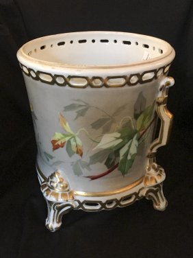 An English Painted And Gilded Jardinière, Probably