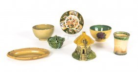 A Collection Of Provincial Pottery And Ceramics,