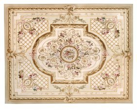 A French Tapestry-woven Carpet Or Hanging, Late-19th