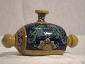 Italian Pottery Bed Warmer