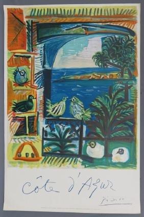 Pablo Picasso Limited Edition Mourlot Lithograph