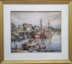 """John C. Hare ,""""New England Fishing Boats"""""""