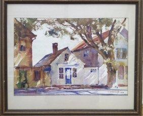 "Ted Kautzky ,""Rockport House, 1938"""