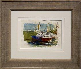 """J. Thurston Marshall , """" Boats"""""""