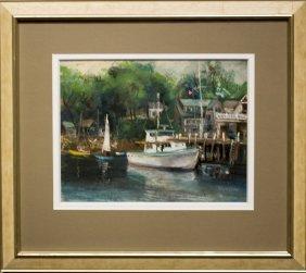 """Sigmund Kozlow , """" Rockport Waterfront"""""""
