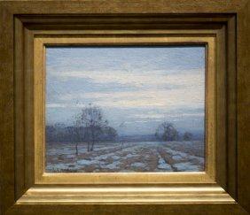 "John F. Carlson , "" Winter Twilight"""