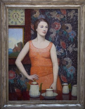 "Emma Fordyce Macrae , "" 5 O'clock - Girl With"