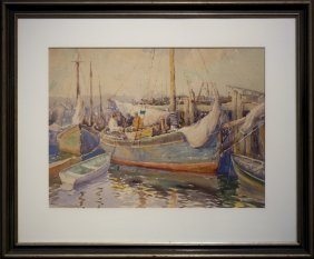 """John A. Cook , """" Inner Harbor, Gloucester, Ma"""""""