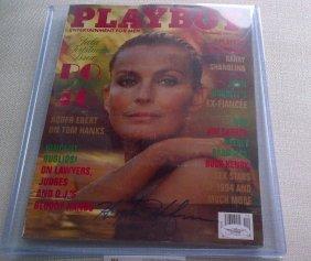 Hugh Hefner Signed December 1994 Playboy Magazine