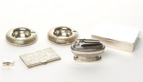 Collection Of Silver Accessories
