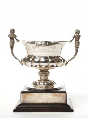 Fakai Cup Silver Horse Trophy