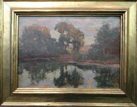 O/c Tonalist Landscape Sgnd Hal Robinson