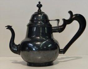 Amer. Tea Pot Attr. To Jacob Gerritse Lansing