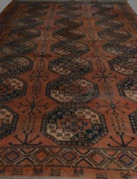 """Roomsize Bokara Carpet C. 1910 (175"""" X 122"""" )"""