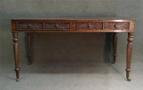 Regency Style Mahogany Writing Table