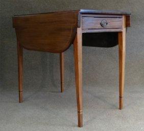 C.1790 Ny Mahogany Pembroke Table