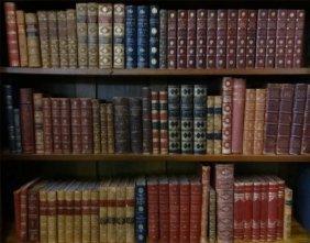 Over 85 Vols Leather Bound/ Quarter Bound Books