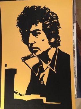 Rare Bob Dylan Silkscreen - Hard To Find.