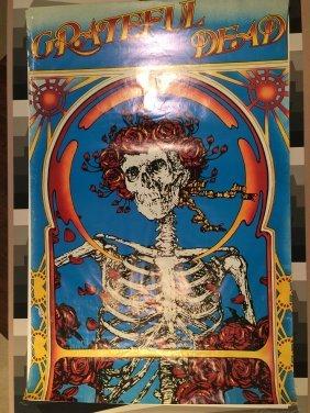 Original 1894 Skull And Roses Grateful Dead ! ! !