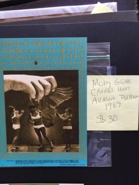 Moby Grape - Canned Heat - Postcard - Fd075