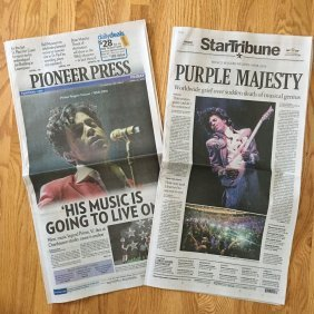 Prince 1 - Twin Cities Newspapers - Prince's Death