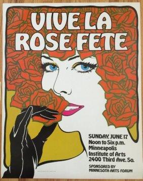 Viva La Rose Fete - Minneapolis Institute Of Arts