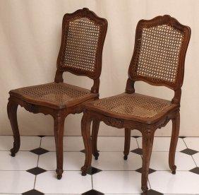 Paar Barockstühle, Süddeutsch, Um 1750