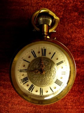 Pocket Watch, Swiss, Bronze