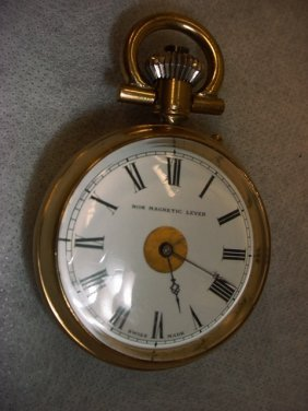 Pocket Watch Non Magnetic Lever, Swiss Made