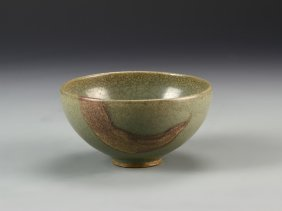 Chinese Antique Junyao Bowl