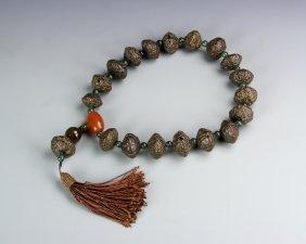 Chinese Tibetan Prayer Beads