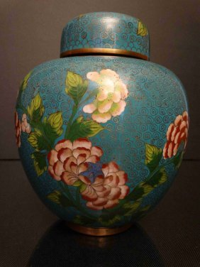Chinese Copper Painted Enamel Chaguan铜胎