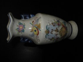 Chinese Export Porcelain Vase In Republic Time