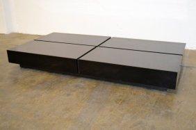 Black Lacquer Coctail Table