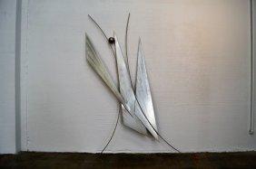 C. Jere Steel Modern Wall Sculpture