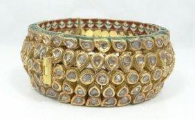 17.70ctw Genuine Uncut Diamond & Solid 21k Yellow Gold