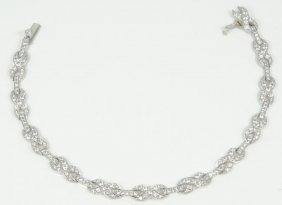 2.40ctw Genuine Si1-si2/g-h Diamond & Solid Platinum