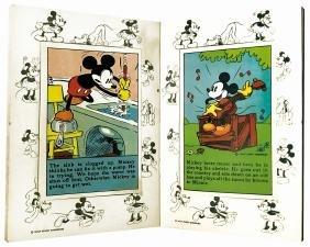 Mickey Mouse Recipe Scrap Book