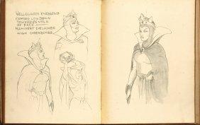 Walt Disney Sketch Book