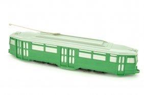 Strassenbahn 4-achs-triebwagen, Gruen