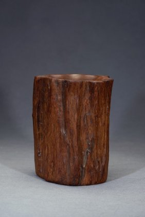 An Agarwood Brushpot