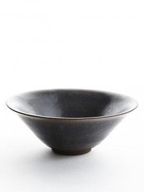 A Jian Ware Black Glazed Bowl