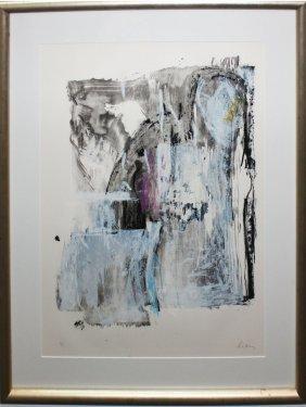 """Helen Frankenthaler """"sudden Snow"""""""
