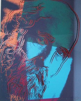 "Andy Warhol ""martin Buber (f&s 228)"""