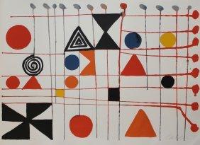 """Alexander Calder """"quilt"""""""